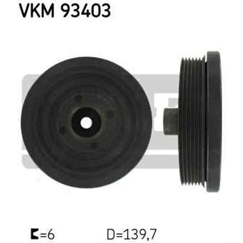 1 Polea Damper Skf Vkm 93403