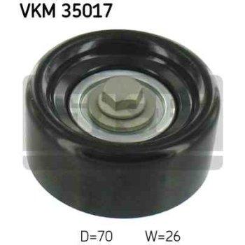 Polea Correa Multi-v Skf Vkm 35017