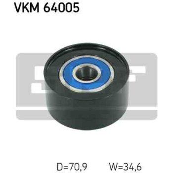 Polea Correa Multi-v Skf Vkm 64005