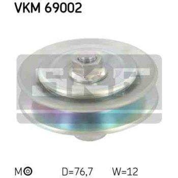 Polea Correa Multi-v Skf Vkm 69002