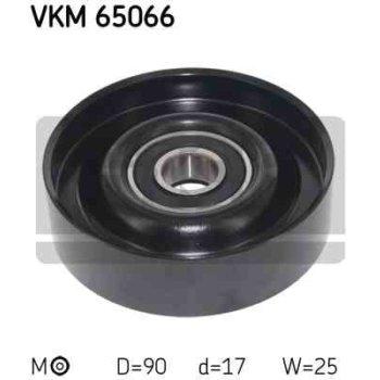 Polea Correa Multi-v Skf Vkm 65066