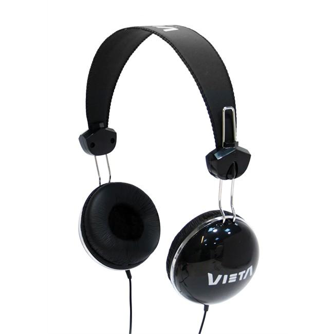 Auricular Vieta Diadema Serie Junior Negro