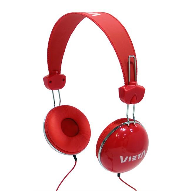 Auricular Vieta Diadema Serie Junior Rojo