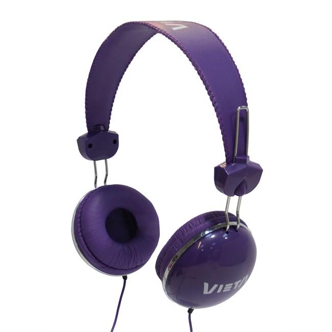 Auricular Vieta Diadema Serie Junior Violeta