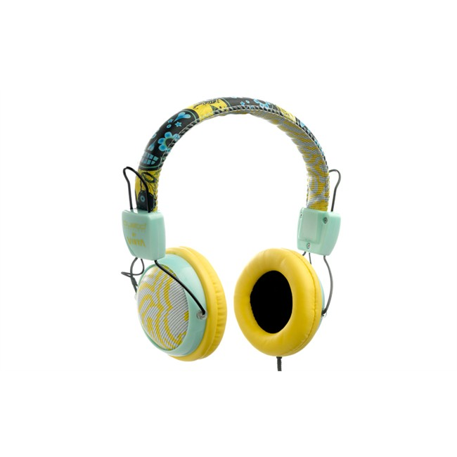 Auriculares By Custo Barcelona Amarillo Y