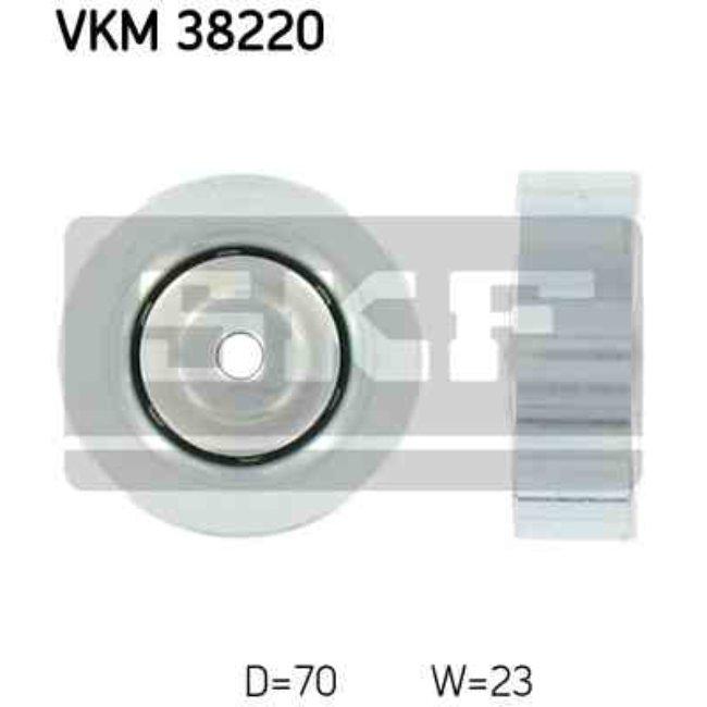 Polea Correa Multi-v Skf Vkm 38220
