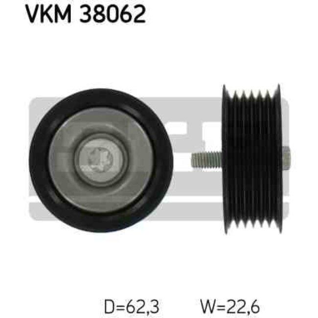Polea Correa Multi-v Skf Vkm 38062