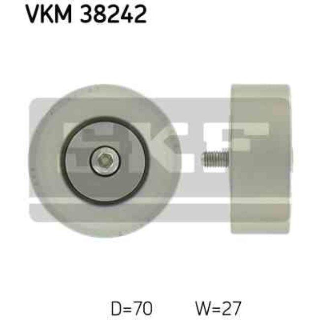 Polea Correa Multi-v Skf Vkm 38242