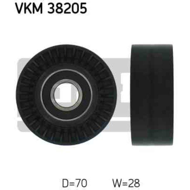 Polea Correa Multi-v Skf Vkm 38205