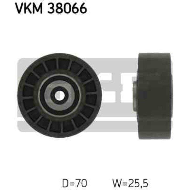 Polea Correa Multi-v Skf Vkm 38066