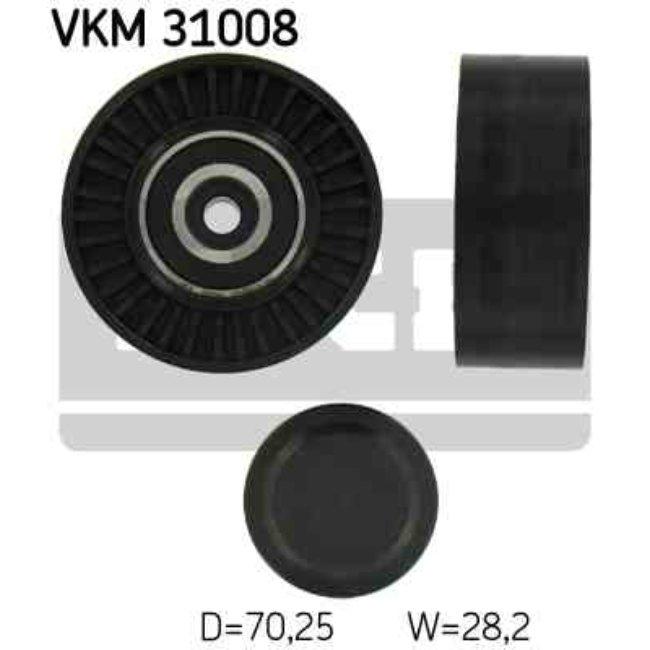 Polea Correa Multi-v Skf Vkm 31008