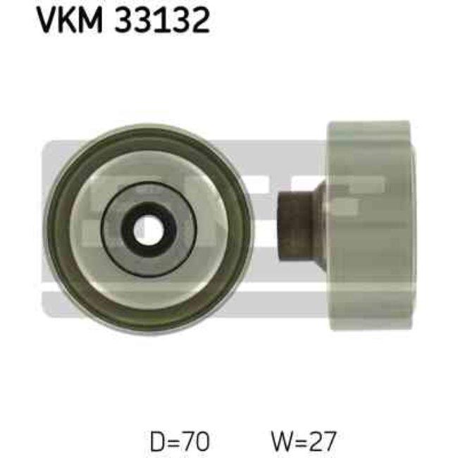 Polea Correa Multi-v Skf Vkm 33132