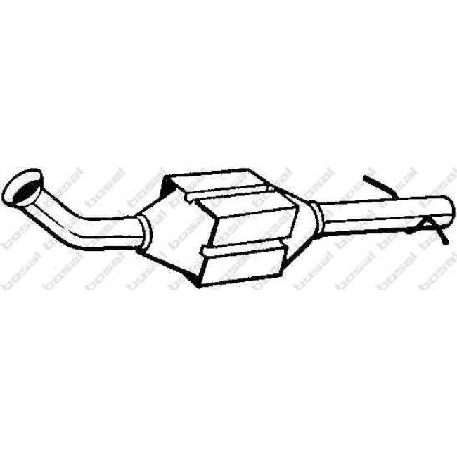 Catalizador Bosal 099-104